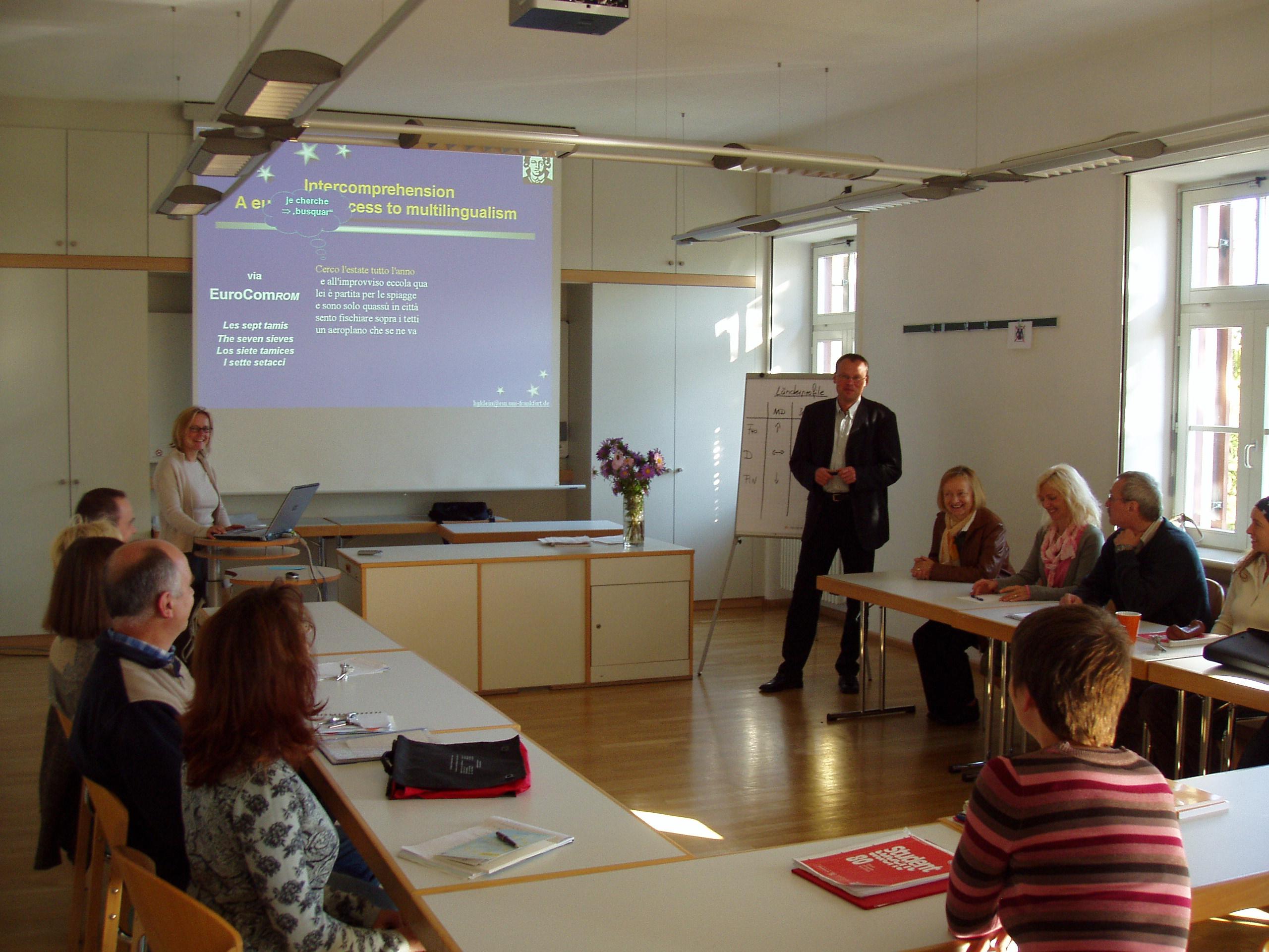 europafels Seminar Lehrerfortbildung
