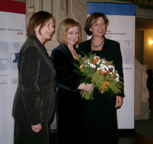Prof. Ursula Männle - Magdalena Baur - Emilia Müller