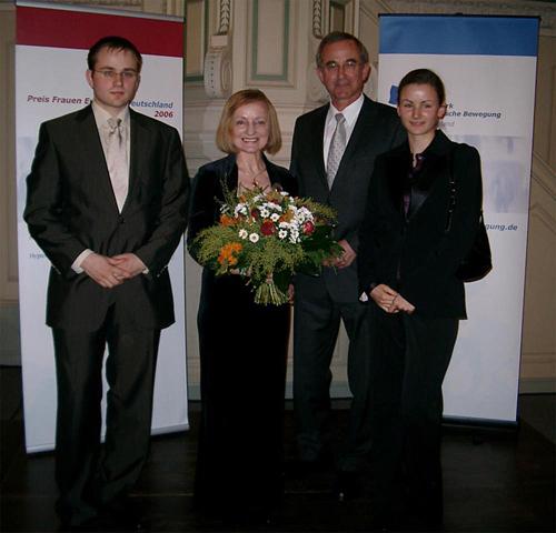 Reinold Raur - Magdalena Baur - Norbert Baur - Brigitte Baur