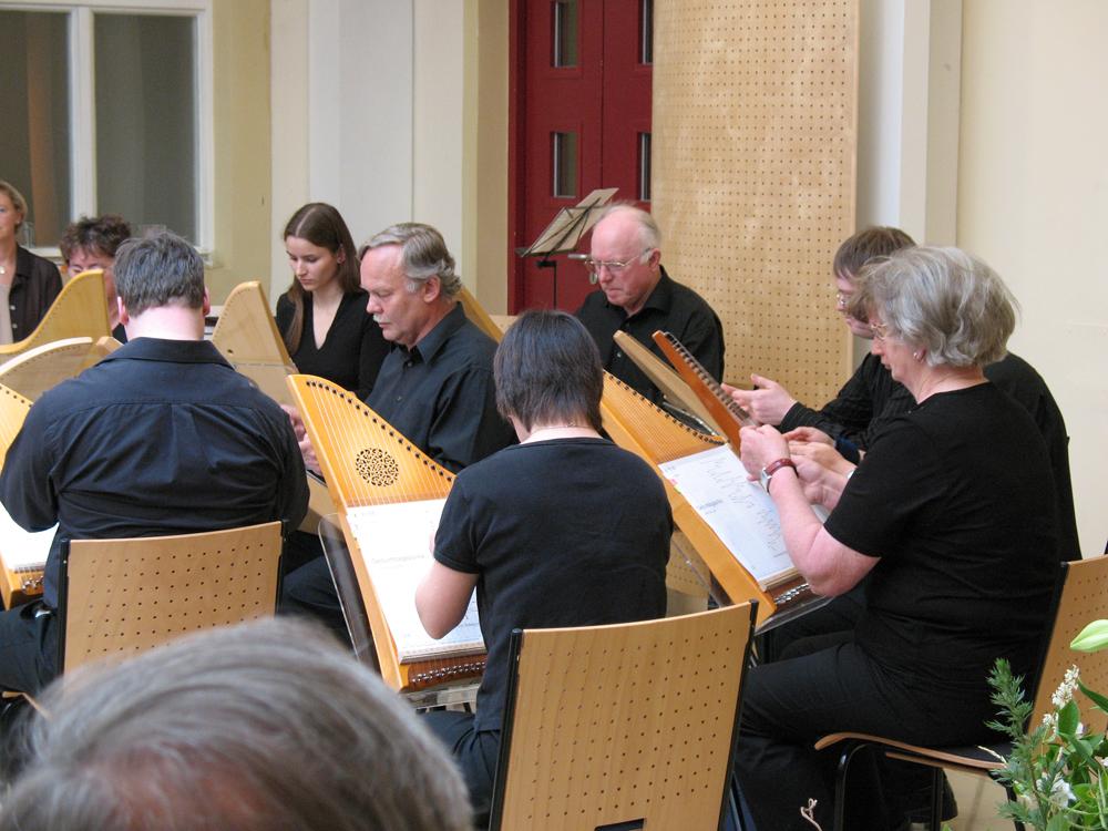 Behindertenintegration Österreich mit Veeh Harfe