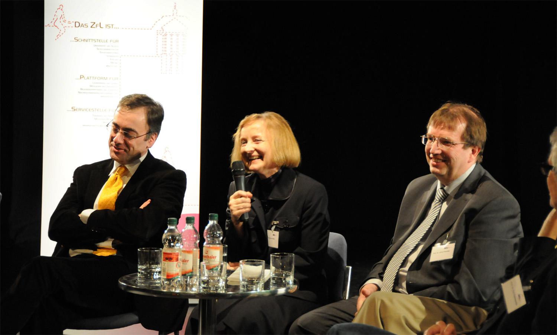 Muchtar Al Ghusain, Magdalena Baur, Prof. Dr. Alfred Forchel